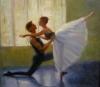Pas de Deux                             by Judy Greenan